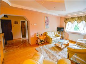 Apartament de vanzare in Sibiu, zona Valea Aurie, mobilat si utilat