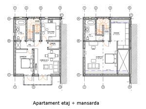 Apartament de vanzare in Sibiu- 3 camere 2 bai si dressing