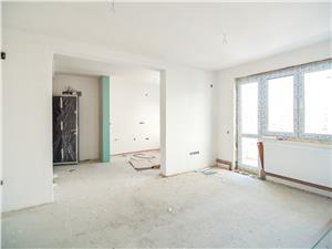 Apartament 3 camere de vanzare in Sibiu- INTABULAT - POD - 2 Balcoane