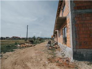 Casa de vanzare in Sibiu - zona Tractorului - 119mp utili, curte mare