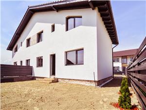 Casa de Vanzare in Sibiu tip duplex, 5 camere, 2 bai, gradina 170 mp