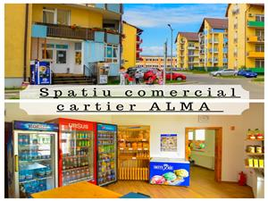 Spatiu comercial de vanzare in Sibiu - Cartierul Alma