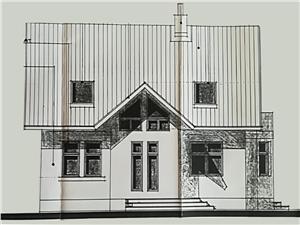 Casa de vanzare in Sibiu - Cisnadie - teren 1018 mp