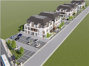 Apartament 3 camere de vanzare in Sibiu - La cheie - Etaj 1 - Balcon