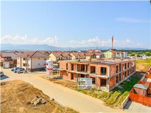 Apartament 3 camere de vanzare in Sibiu - La Cheie - Etaj 1- 2 Balcone