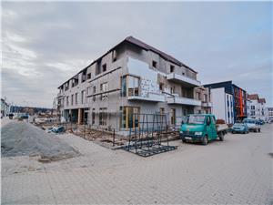 Apartament de vanzare in Sibiu - 3 Camere La Cheie - Etaj 1- 2 Balcone