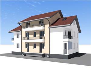 Apartament 3 camere de vanzare Sibiu -Etaj 1 - Pivnita si 2 Parcari