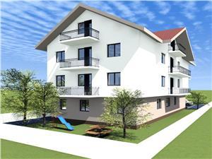 Apartament de vanzare Sibiu de 3 Camere - Etaj 1 cu Balcon