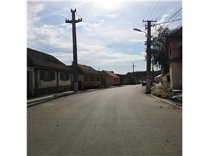 Teren de vanzare in Sibiu - Ocna Sibiului cu constructie inceputa