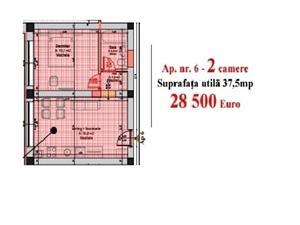 Apartament de vanzare in Sibiu , Cisnadie, 2 camere