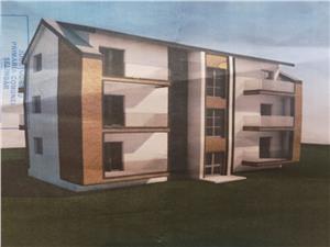 Apartament de vanzare in Sibiu - Selimbar, zona Brana, 3 camere, 63 mp