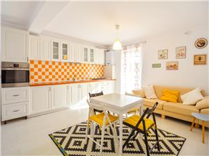Apartament 3 camere de vanzare in Sibiu - mobilat si utilat + balcon