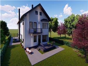 Casa de vanzare in Sibiu - duplex - 5 camere - cart. Tineretului