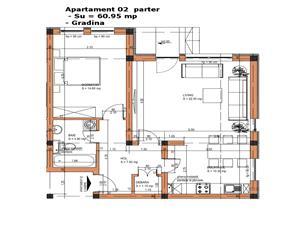 Apartament de vanzare in Sibiu - gradina proprie 93 mp si boxa
