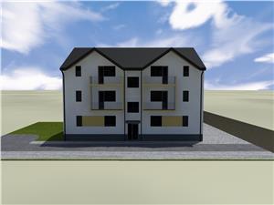 Apartament de vanzare in Sibiu - 2 Camere - Gradina de 40 mp