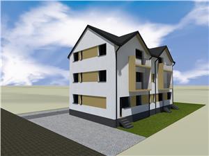 Apartament de vanzare in Sibiu - 2 Camere - Etaj 1 -  Loc de parcare