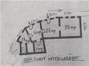 Apartament de vanzare in Sibiu -zona ULTRACENTRALA-pretabil investitie