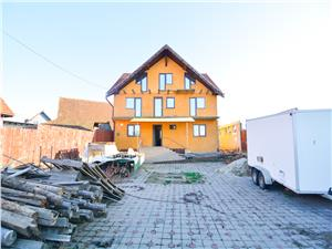 House for sale in Sibiu - Cristian - 12 Rooms - Ideal Pensiune