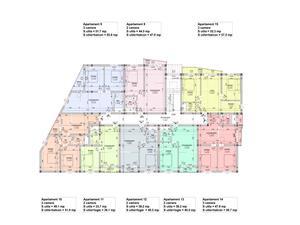 Apartament de vanzare in Sibiu - 3 camere - predare LA ALB