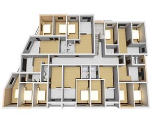 Apartament de vanzare in Sibiu - 3 camere - bucatarie separata
