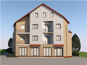 Apartment for sale in Sibiu-balcony-mansardable-parking place