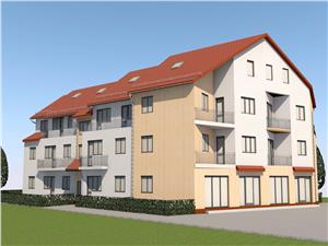 Apartament de vanzare in Sibiu-balcon-pod mansardabil-loc de parcare