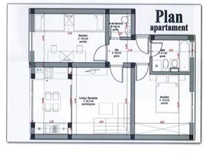 Apartament cu 3 camere de vanzare in Sibiu