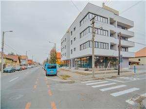Apartment for rent in Sibiu - Zona Lux - Block with lift and parking