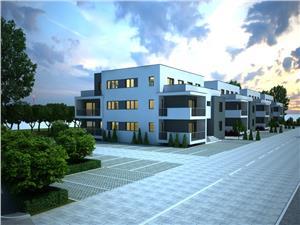 Apartament de vanzare in Sibiu - terasa generoasa - vedere mixta