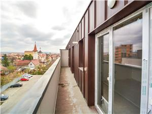 Apartment for sale in Sibiu - 3 Rooms Terrace - Elevator and Parking