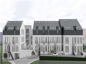 Apartament de vanzare in Sibiu - 78,95 + gradină si terasa de 112 mp