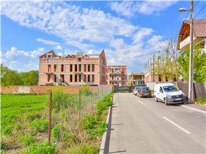 Apartament 4 camere de vanzare in Sibiu - cu gradina de 39,2 mp
