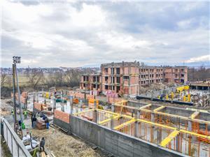 Apartament de vanzare in Sibiu - 3 camere - curte de 60 mp
