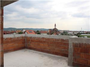 Penthouse for sale in Sibiu with 2 terraces