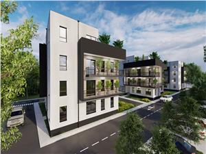 Apartament de vanzare in Sibiu de tip Penthouse cu 2 Terase Luminoase