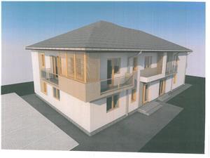 Apartament 3 camere de vanzare in Sibiu - Vila de Lux + Balcon