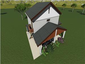 Casa de vanzare in Sibiu - Single cu Gradina Spatioasa
