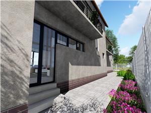 Casa de vanzare in Sibiu - 4 camere - Teren de 180 mp