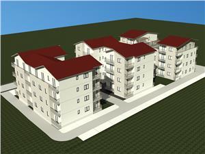 Apartament de vanzare in Sibiu - 3 camere -predare la alb sau la cheie