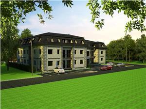 Apartament de vanzare in Sibiu - 6 balcoane - imobil nou