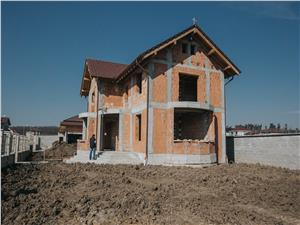House for sale in Sibiu - 250 sqm living space - 1300 sqm land area
