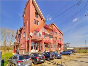 Apartament 2 camere in Sibiu - Etaj 1 - mobilat si utilat modern 77 mp