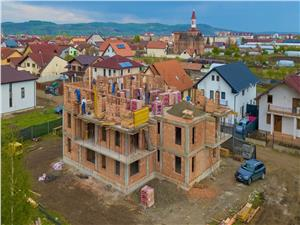 3-roomapartment for sale in Sibiu - ground floor