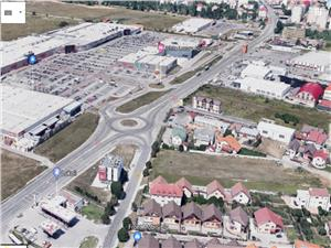 Land for sale in Sibiu - Selimbar near the Shopping City