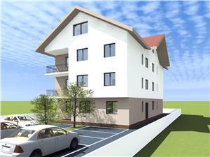 Apartament de vanzare in Sibiu 3 camere cu Balcon Zona Linistita