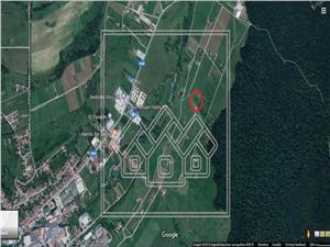 Teren de vanzare in Sibiu - Cisnadie - 5000 mp