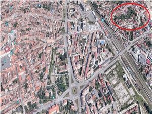 Teren de vanzare in Sibiu - zona Podul Garii - 3178 mp