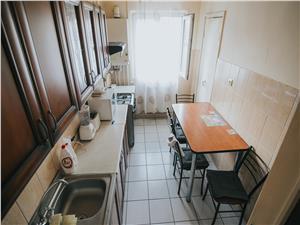 Apartament de vanzare in Sibiu - Decomandat - Etaj 1 - Vasile Aaron