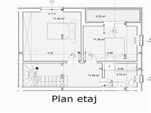 Casa de vanzare in Sibiu - 87 mp utili si pod mansardat 44 mp