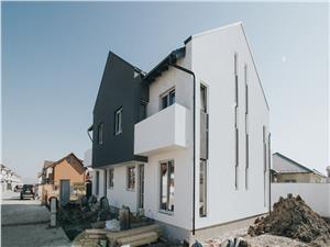 Casa de vanzare in Sibiu - pod mansardabil - 104 mp curte libera